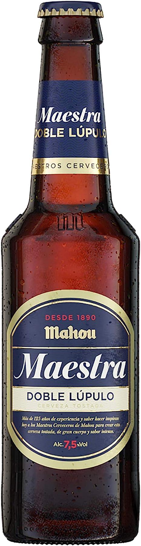 Mahou Maestra Doble Lúpulo Cerveza Lager Tostada, 7.5 ...
