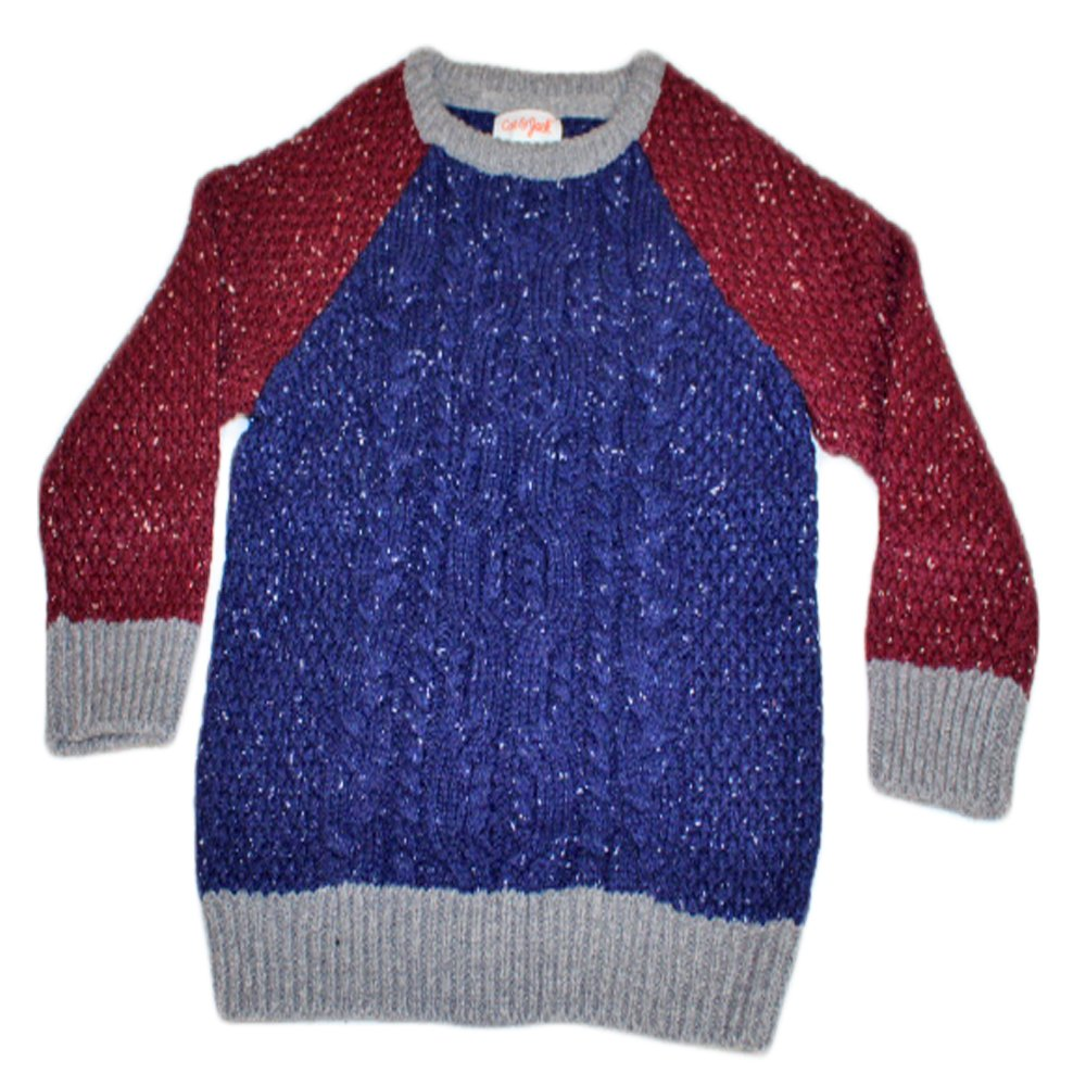 Cat /& Jack Boys Blue and Red Sweater