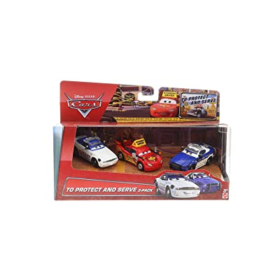 Disney/Pixar Cars, To Protect and Serve 3-Pack: Toys & Games