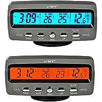 Itian LCD Automoción Electrónico Relojes, Interior del Coche