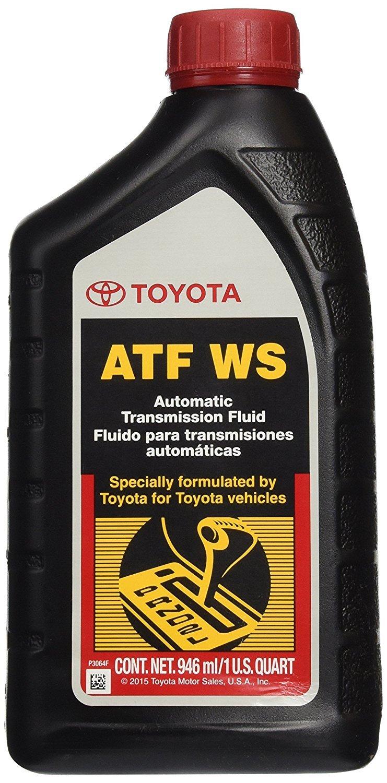 Genuine Toyota Lexus Automatic Transmission Fluid 1QT WS ATF World Standard by Genuine