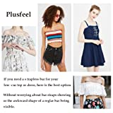 Plusfeel Women's Basic Bra, Comfortable No