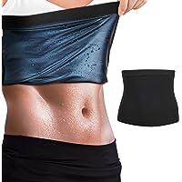 MoKo Svettformare för kvinnor, midjetränare bastu bälte midjebälte, fitness svettband bantning kroppsformare träning…
