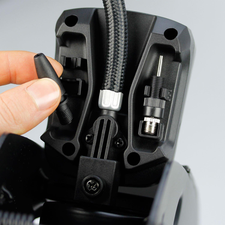 Michelin 92421 Fussluftpumpe 2 Zylinder mit Digitalanzeige