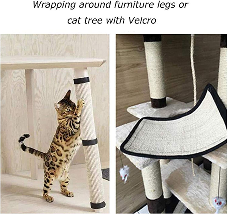 29CM Cat Toys included 6Winky Cat scratch mat Hemp Mat Pet Furniture Protection Scratch Pet Supplies Durable Sofa Protection Furniture Scratch Prevention Sofa Pad 40