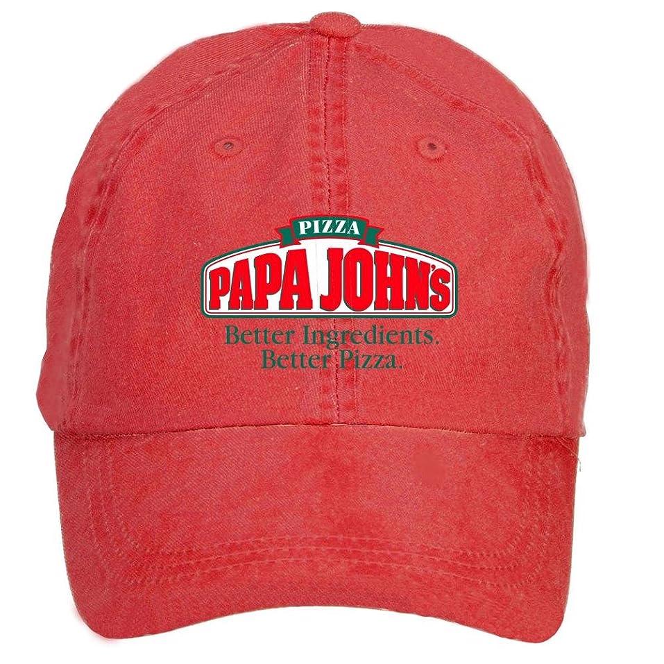 amazon com zlxwqh show papa johns logo cotton washed baseball cap
