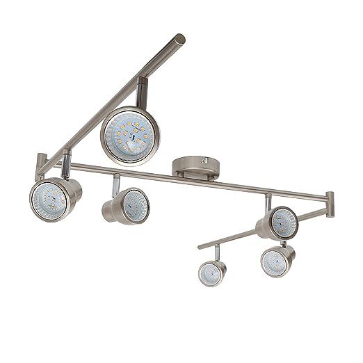 Briloner Leuchten Led Ceiling Light Six Pivotable Rotatable