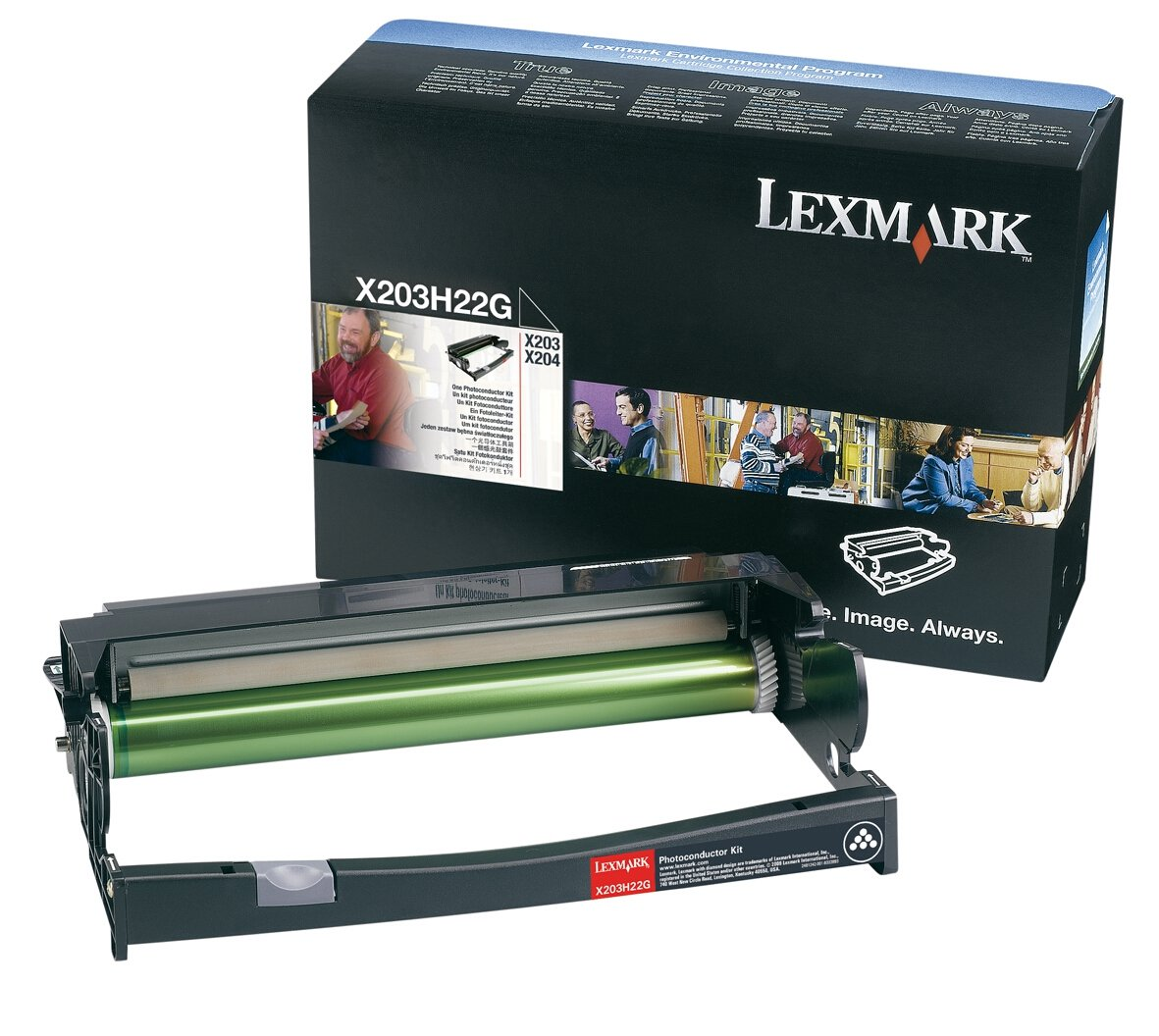Lexmark X203H22G X204 Photoconductor Kit