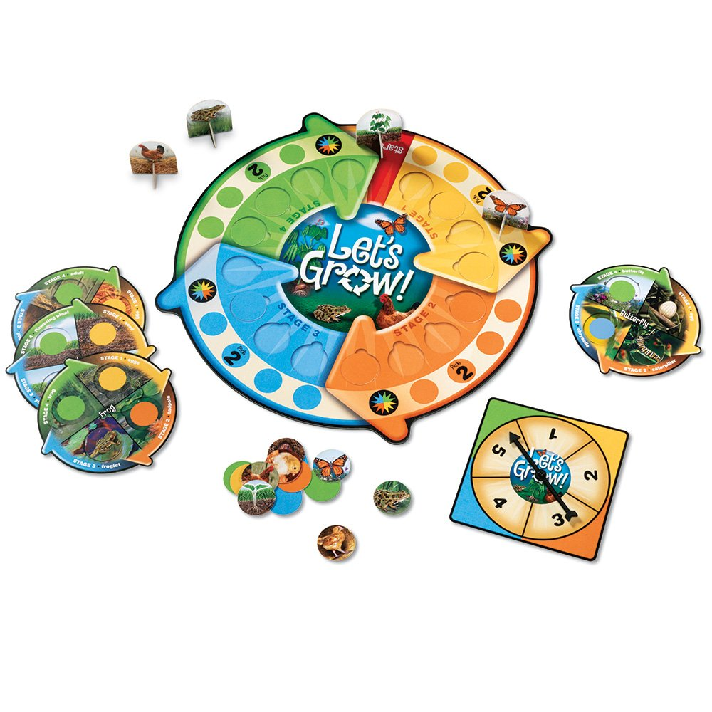 life cycles board game for kids frogs