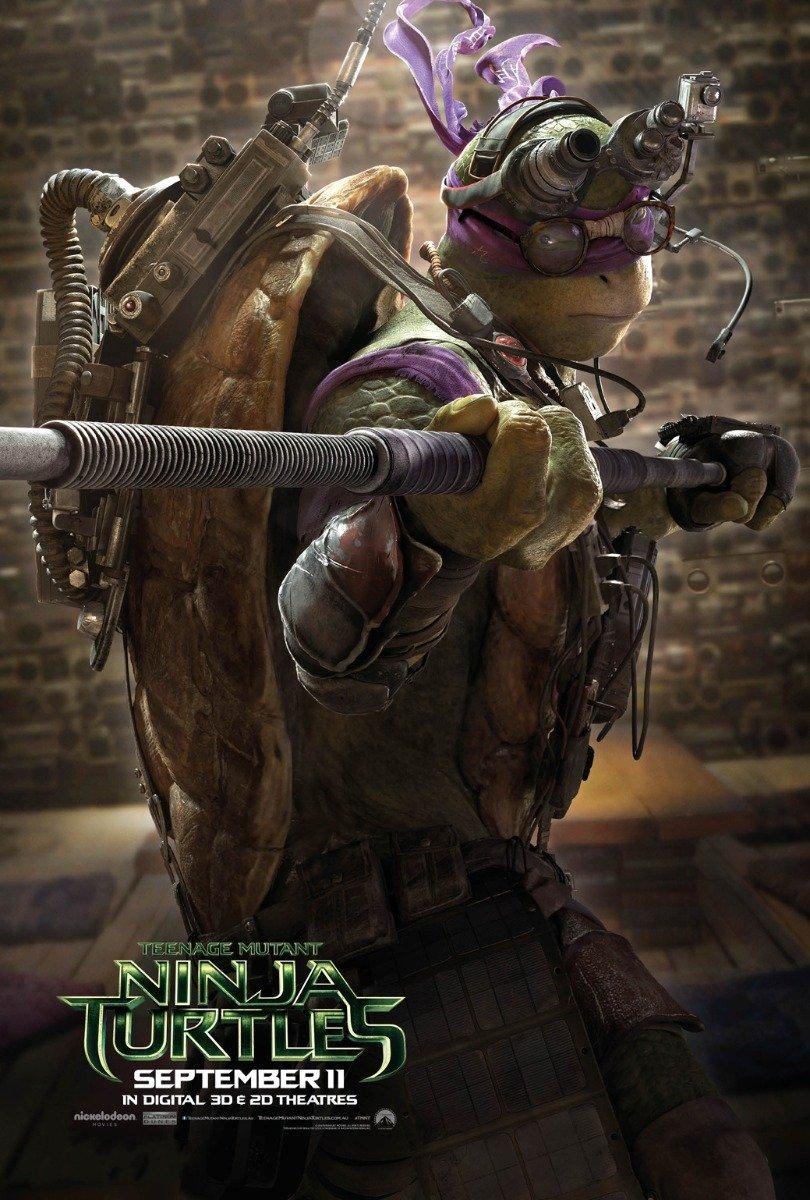 bribase shop Teenage Mutant Ninja Turtles 2014 Poster 20 inch x 13 inch