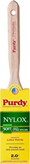 product image for Purdy 144100220 Nylox Series Elasco Flat Trim Paint Brush, 2 inch