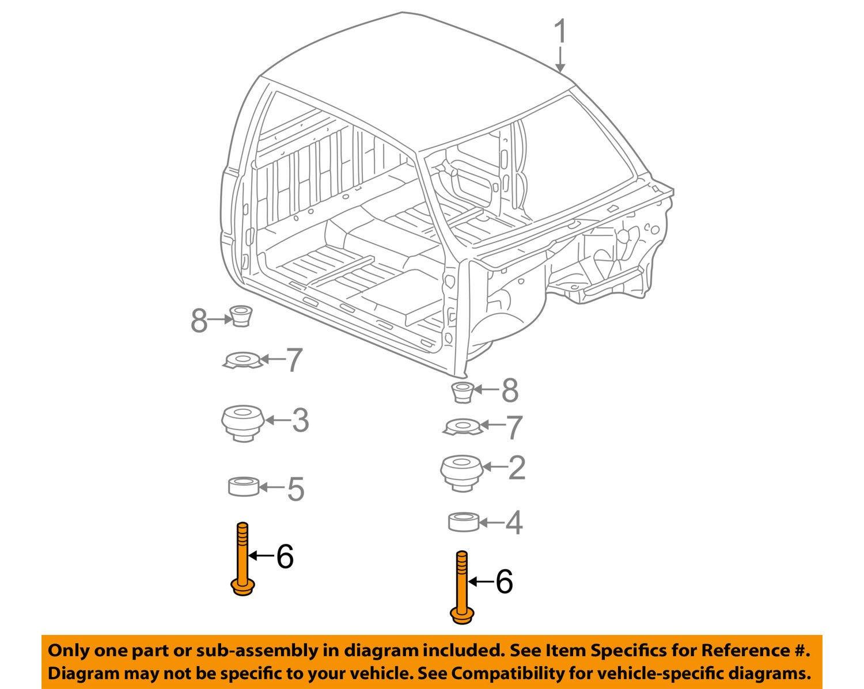 V8-327 Engine Mount Jeep 1965 To 1967 SJ J-Series Crown Automotive J3176909