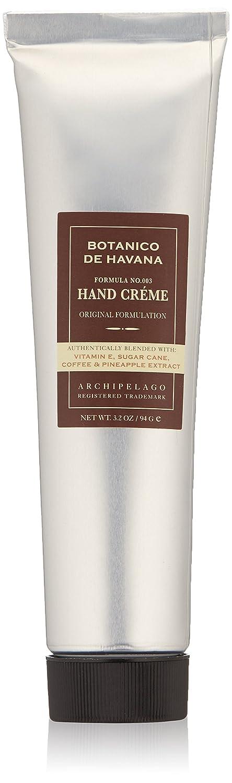 Archipelago Botanico De Havana Hand Crème, 3.2 Oz