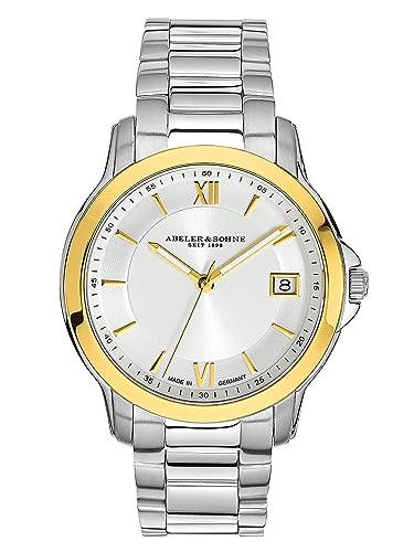 Abeler & Söhne fabricado en Alemania Mujer Reloj bicolor con ...