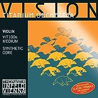 Thomastik Cuerda para violín 4/4 Vision Titanium Solo