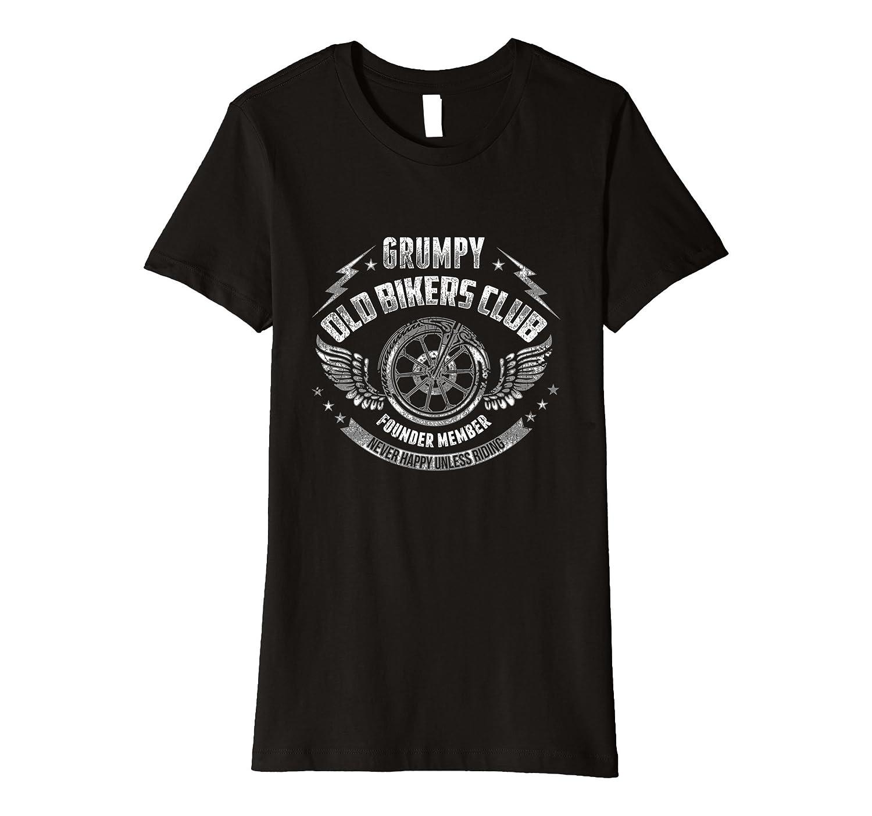 Grumpy Old Bikers Club Biker T shirt