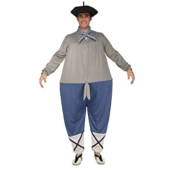 My Other Me Me-203782 Disfraz de olentzero para hombre, ML (Viving Costumes 203782