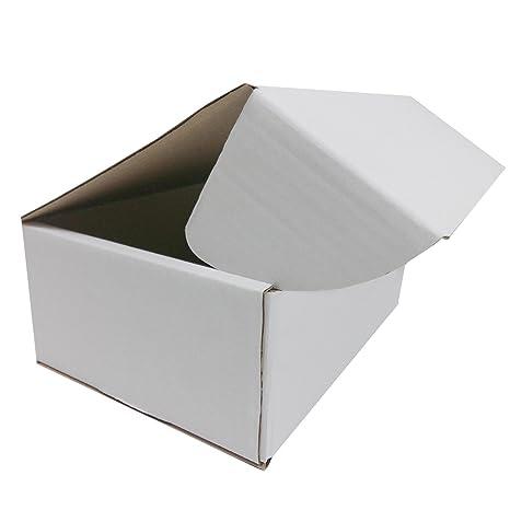 75 Cajas Envío 250 x 175 x 100 mm ranuras de cartón tapa verpax