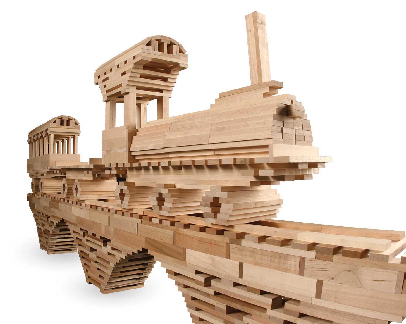 KEVA Structures 600 Building Planks Set
