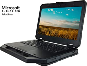 Dell Latitude 14 Rugged 5404 14 inches HD Laptop, Core i5-4310U 2.0GHz, 16GB, 256GB Solid State Drive, Windows 10 Pro 64Bit, CAM, Touch (Renewed)