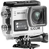 SJCAM SJ6 LEGEND 4K スポーツカメラ(タッチ可能なバックドア*1、追加電池*1、microsd 16GB*1同梱)防水 広角 タッチスクリーン ジャイロスコープ搭載 アクションカメラ