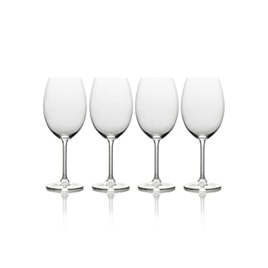 Mikasa Julie Bordeaux Wine Glass, 21.5-Ounce, Set of 4