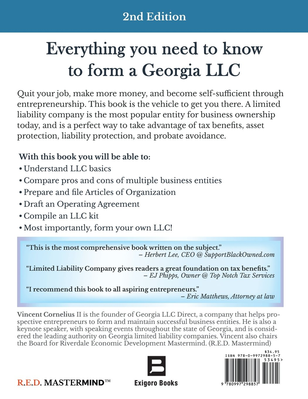 Limited Liability Company The Step By Step Guide To Form Your Own