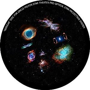 Nebulae - disc for Uncle Milton Star Theater Pro/Nashika NA-300 Planetarium