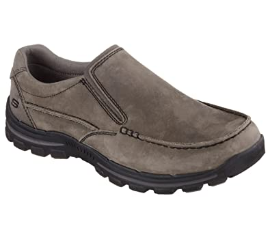 skechers relaxed fit memory foam slip on