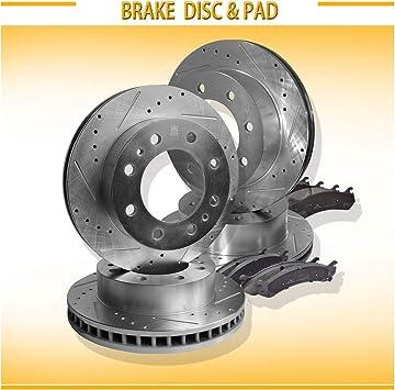 Max Performance Ceramic Brake Pads R See Desc. 04 05 06 GMC Sierra 2500 HD