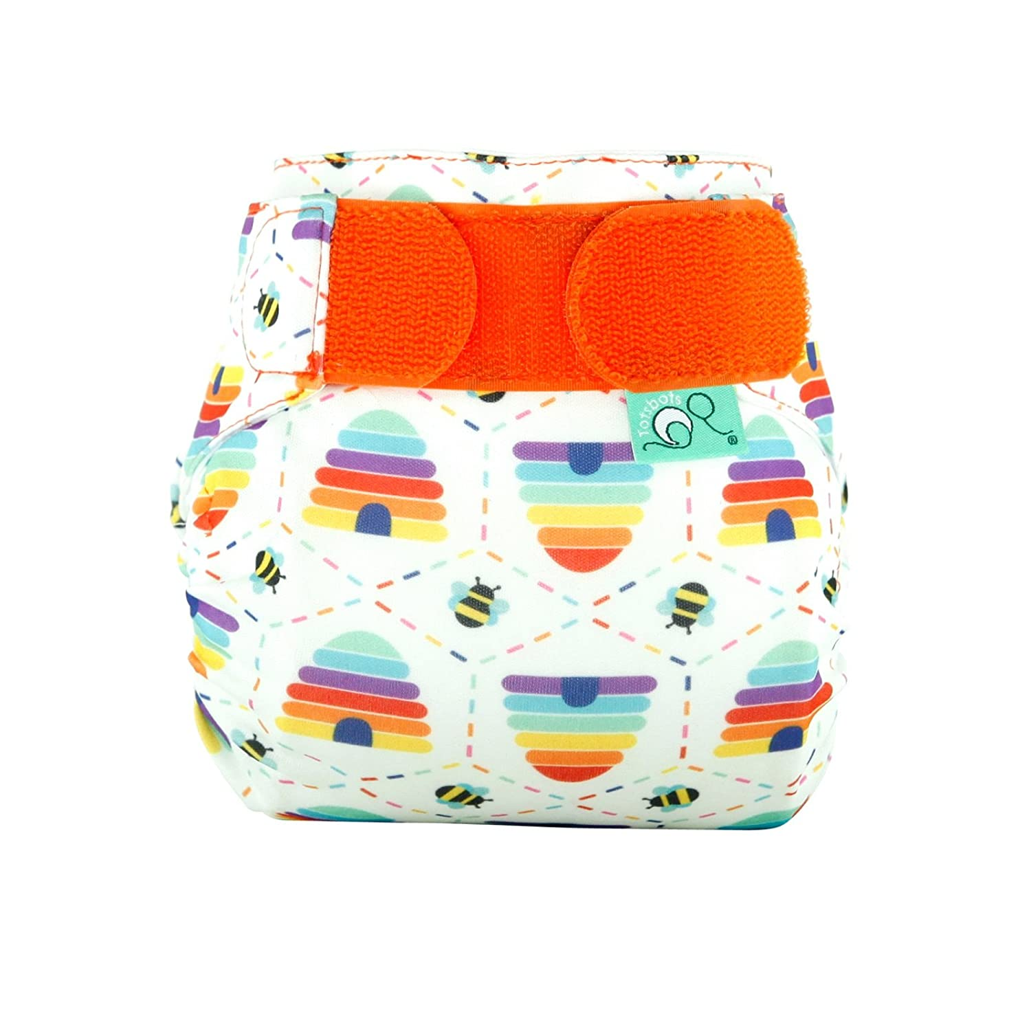 TotsBots TeenyFit STAR Bee Kind Reusable Washable Nappy from 5lbs to 12lbs Tots Bots Limited