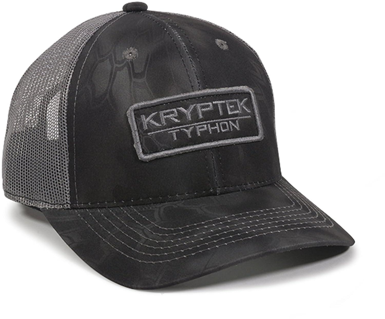 eb71265335b Steelcut Kryptek Raid Black Grey New Snakeskin Camo Warrior Patch Mesh Cap  Hat  Amazon.co.uk  Clothing