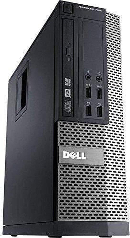 Dell OptiPlex 7010 SFF Desktop Small Form Factor Intel Core i3 3th Gen i3-3240 Core 500GB 4GB Windows 10 Pro (Renewed)