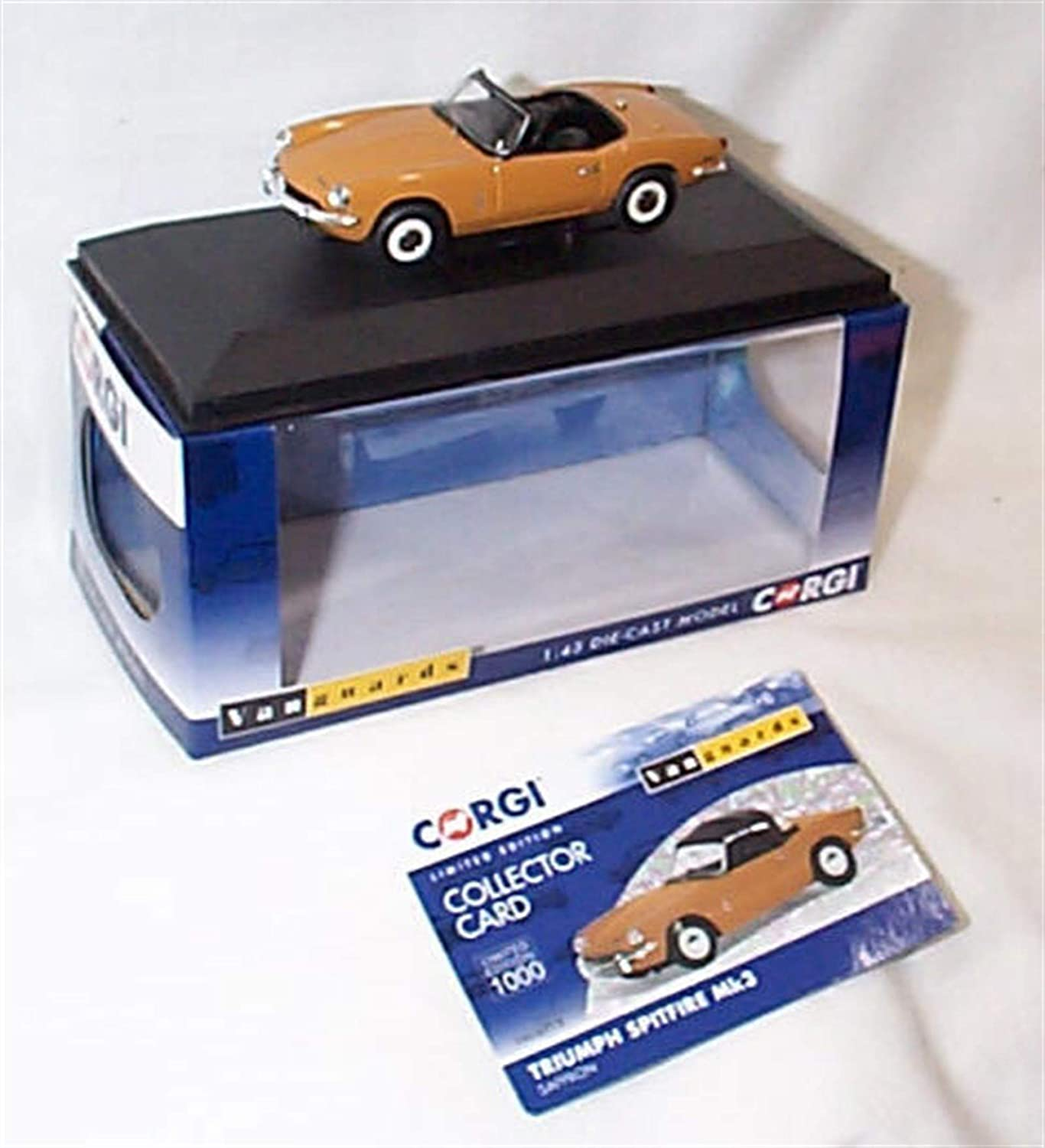 Amazon.com: Vanguards Triumph Spitfire Mk III Diecast Model ...