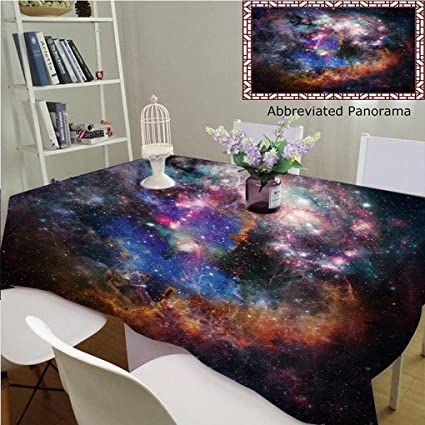 8bad7a105a0c Amazon.com: Unique Custom Cotton and Linen Tablecloths Abstract ...
