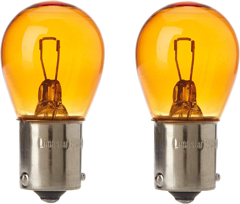 Akhan Bau15s02y Py21w Blinkerbirne Gelb Bau15s 12v 21w Versetzte Pins Auto