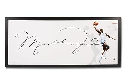 2791a2b640d Michael Jordan Autographed UNC
