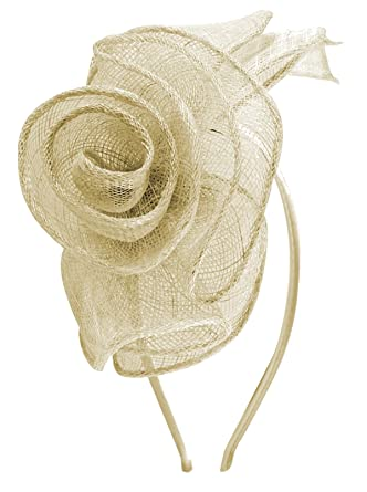 Molly and Rose Rose Aliceband Fascinator In Ivory f2b625d8b23
