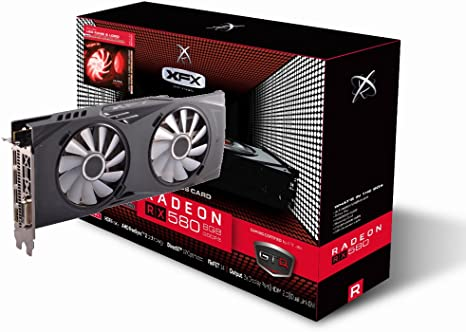 Amazon.com: XFX AMD Radeon RX 580 8 GB, GDDR5, PCI Express ...