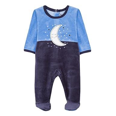 e1e48bb182148 Absorba Boutique Boutique Pyjamas Bleu Pyjama Mixte bébé Bleu (Marine 04)  6-9 Mois (Taille Fabricant 9M) Lot de  Amazon.fr  Vêtements et accessoires