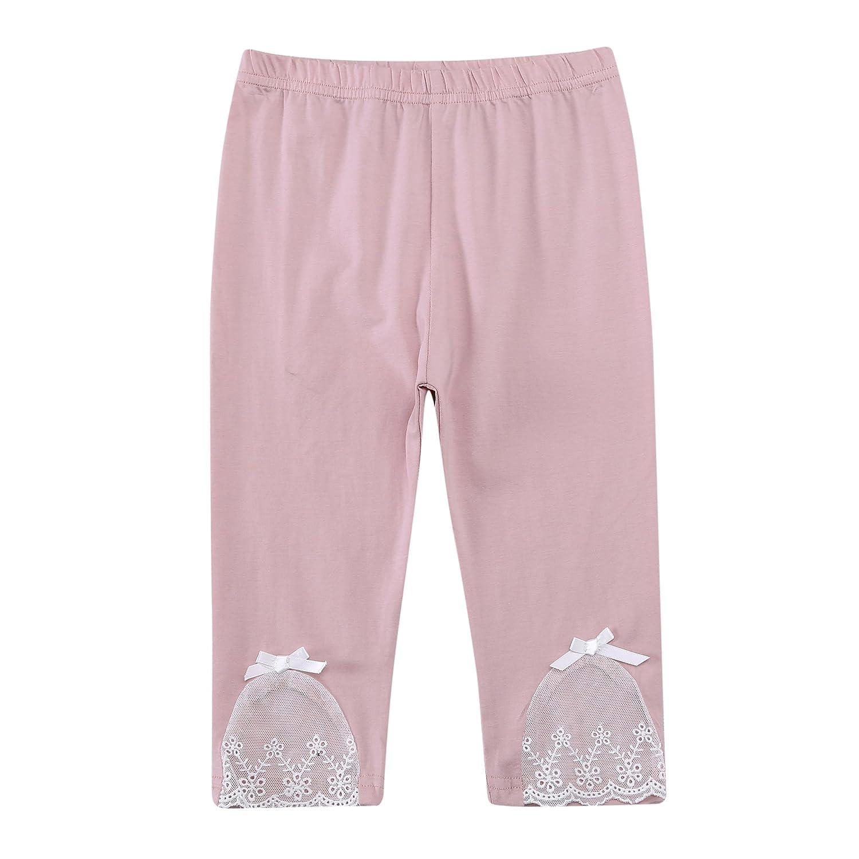 Richie House Girls' Crooped Pants Leggings Size 1-6Y RH2684