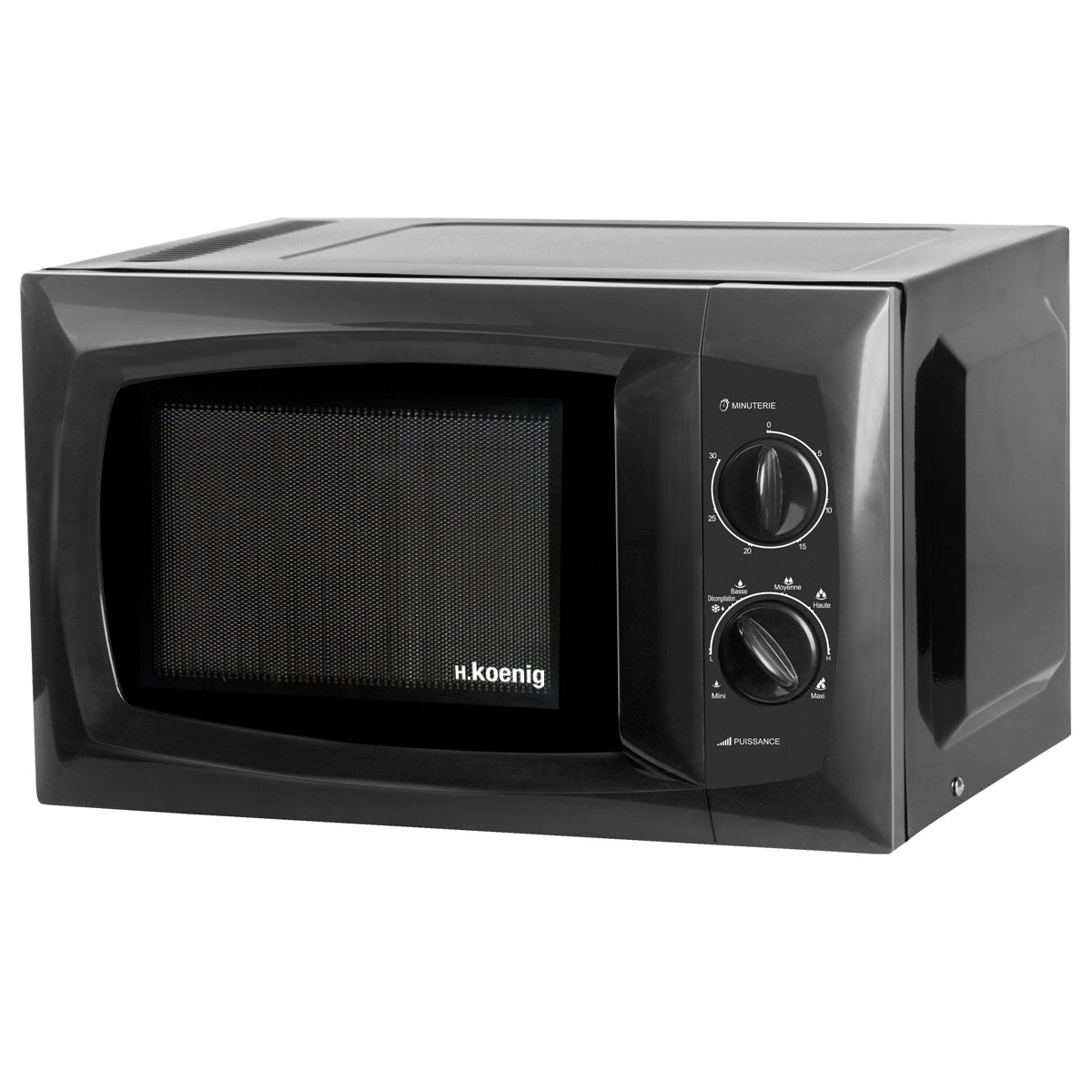 H.Koenig VIO5 - Microondas, 700 W, 20 l, color negro 80143