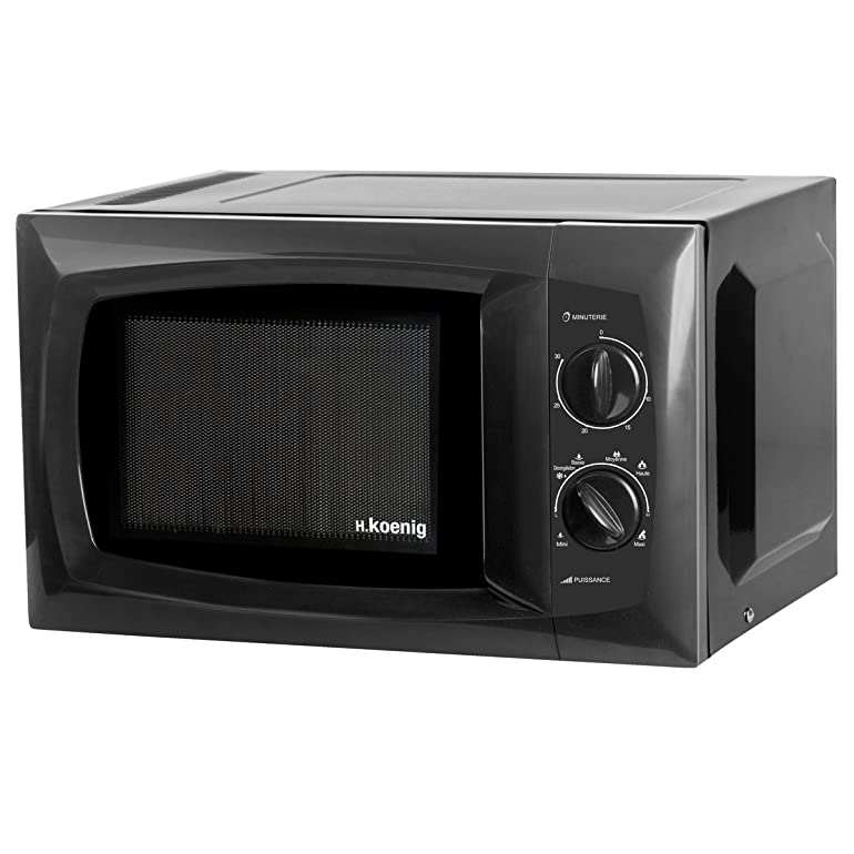 H.Koenig VIO5 Microwave, 20 Litre, 700 Watt, Black: Amazon.co.uk ...