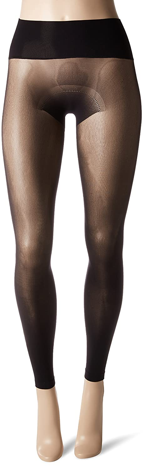 27083289a4fb0 HUE Women's Flat-tering Fit Opaque Footless Tights at Amazon Women's  Clothing store: