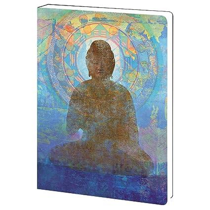 amazon com tree free greetings blue buddha spiritual soft cover