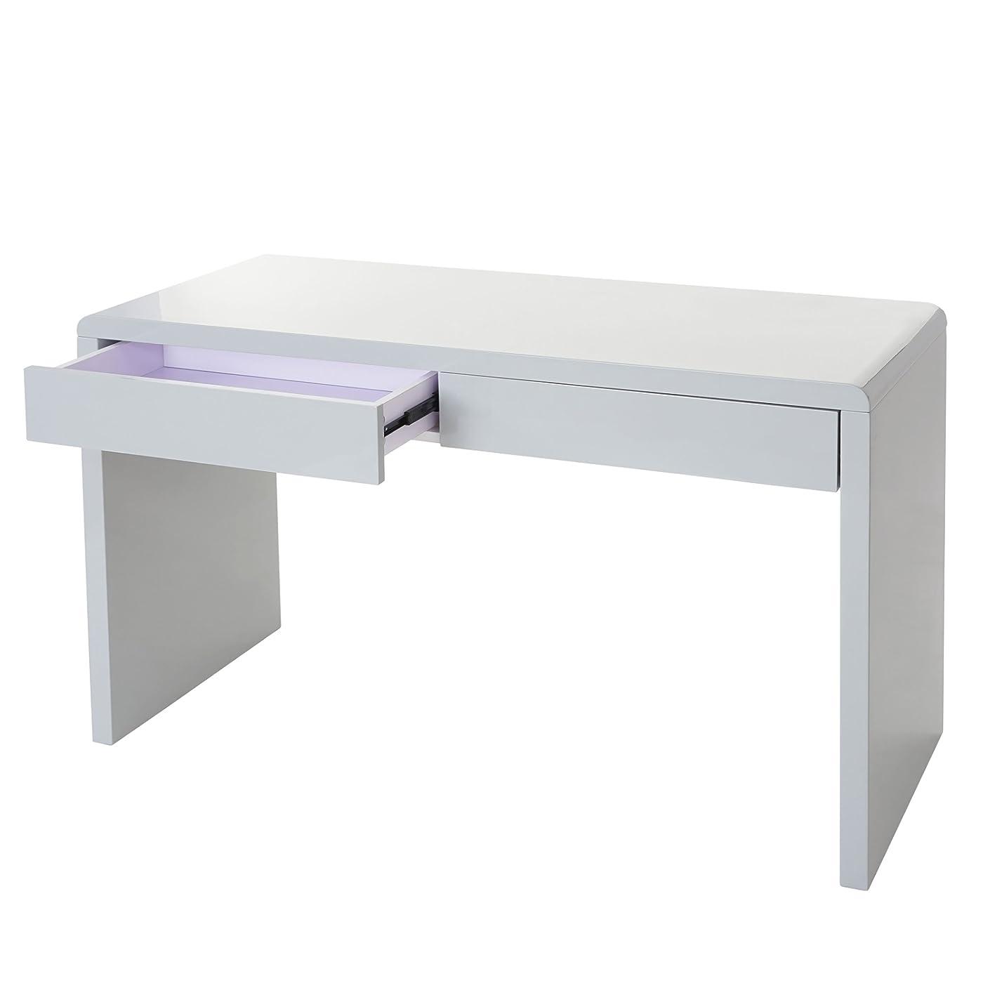 Design schreibtisch edmonton b rotisch computertisch for Schreibtisch hochglanz grau