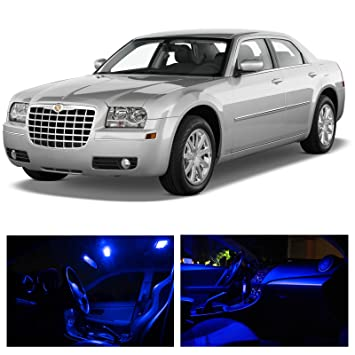 chrysler 300 2006 interior. ledpartsnow chrysler 300 20052010 blue premium led interior lights package kit 12 pieces 2006