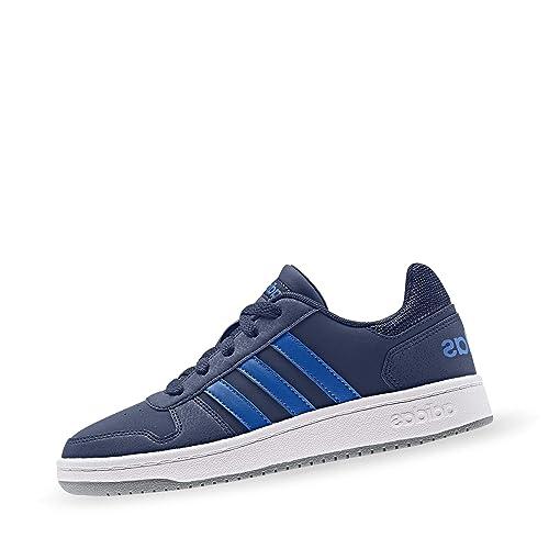 adidas Hoops 2.0 K, Zapatillas de Baloncesto Unisex Niños: Amazon ...