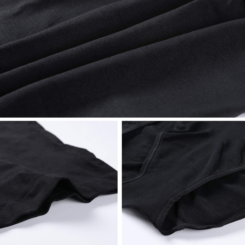 DELIMIRA Damen Miederslips mit Bauch-Weg-Effekt Figurenformend Miederpants High Waist