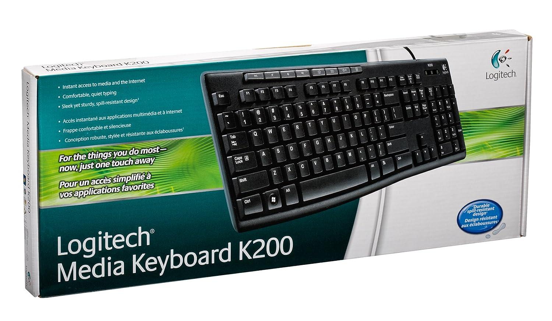 888fa4b479e Amazon.com: Logitech USB Keyboard K200: Electronics